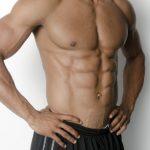 筋肉質な身体
